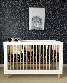 babyletto on Instagram:☝️king of the crib #hakunamatata • #babyletto Lolly 3-in-1 crib • : designed by mama Dene Wilson McKay