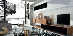 fabricante muebles salon en chapa de nogal - Buscar con Google