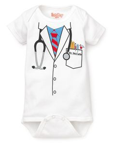 Doctor Onesie. So Cohen can be like his dad <3