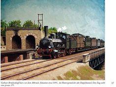Eisenbahnbilder Peter König Holland, Railroad History, Train Art, Train Tickets, Steam Engine, Steam Locomotive, Merida, Golden Age, Old School