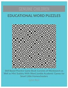 Skill Based Practice Game Book Consists of Wordsearch as Well as Mini Sudoku With Word Jumble Academic Games for Smart Little Homeschoolers Sudoku Puzzles, Word Puzzles, Puzzles For Kids, Happy Wheels Game, Phonics Games For Kids, Brain Teaser Puzzles, Word Search Puzzles, Challenging Puzzles, Puzzle Books