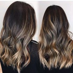 Contrast and dimension. Color by @hairxjojo  #hair #hairenvy #hairstyles #haircolor #brunette #balayage #highlights #newandnow #inspiration #maneinterest