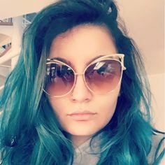 Only $4.82 , Fashion Cat Eye Rose Gold Mirror Sunglasses Women Brand Designer Metal Frame Lady Sun Glasses Cateye Female Cat Eye Sunglasses, Round Sunglasses, Sunglasses Women, Stylish Glasses For Women, Rose Gold Mirrored Sunglasses, Women Brands, Sunglasses Accessories, Retro Fashion, Eyeglasses