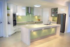 colorful kitchen sin