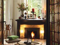 Christmas Fireplace Mantel 2014