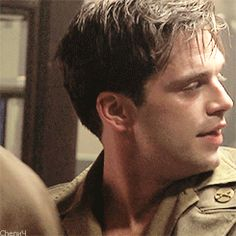 That is a cute face-Sebastian stan