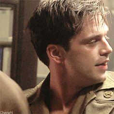 That is a cute face-Sebastian stan