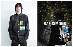 Photographed by Willy Vanderperre courtesy of Raf Simons