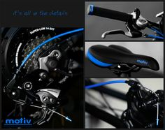Motiv Electric Bikes - it's all in the details