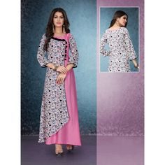 😍*Texstile Arena Presents You This 8 New Designer Kurti*😍 To Hijab Style Dress, Dress Indian Style, Indian Dresses, Indian Outfits, Girl Fashion Style, Fashion Outfits, Kaftan Pattern, Eid Dresses, Batik Dress