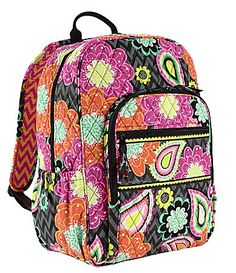 Need a new Backpack for the new school year? Check out this new pattern! The Vera Bradley Campus Backpack in Ziggy Zinnia. A bright, durable, school bag that will turn heads and last all year long. Pick yours up at Dillard's. #Dillards #myLPreason