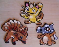 Pokemon sprite bead 7 by Chiki012.deviantart.com