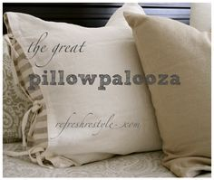 Ikea Pillow--need to figure out how they are made.
