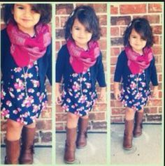 So cute girls outfit !! Totally would look AWSOME on picture day at school,