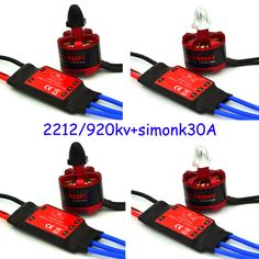 4X2212 920kv Moteur Brushless 4x 30a Simonk Esc Quad Multirotor X525 F450