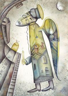 Angel Art by #eugeneivanov #@eugene_1_ivanov #modern #hipster #original #oil #watercolor #painting #sale #art_for_sale #original_art_for_sale #modern_art_for_sale #art_for_sale_artist #art_for_sale_eugene_ivanov #angel_art #angel  The official website by artist Eugene Ivanov: http://opatov.wixsite.com/eugeneivanov