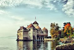 Chillon castle - geneva's
