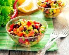 Salade mexicaine (facile, rapide) - Une recette CuisineAZ