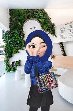 Funny Lockscreen, Muslim Pictures, Hijab Drawing, Islamic Cartoon, Hijab Cartoon, Lovely Girl Image, Cartoon Profile Pictures, Anime Princess, Poster Layout