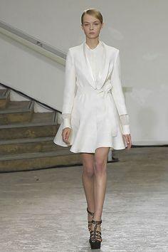 Antonio Berardi Spring 2008 Ready-to-Wear Fashion Show - Siri Tollerød