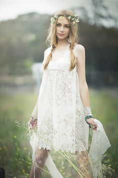 Nice lace with embroidery. Fancy garden style.