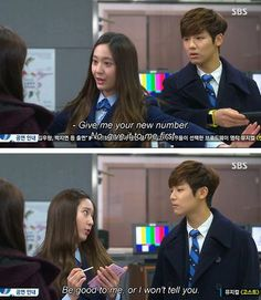 Lee bona // yoon chan young