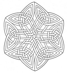 Mandala with Knotwork coloring page from Celtic mandalas category. Select from 31983 printable crafts of cartoons, nature, animals, Bible and many more. Adult Coloring Pages, Mandala Coloring Pages, Free Printable Coloring Pages, Colouring Pages, Coloring Books, Celtic Quilt, Celtic Mandala, Celtic Art, Geometric Patterns