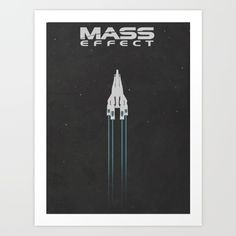 Mass Effect Art Print by Noble-6 - $15.00