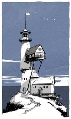 Lighthouse by ~TangoCharlieESQ on deviantART