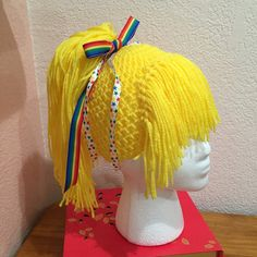 Made to ORDER pony tail rainbow brite doll by MorganBrynDesigns