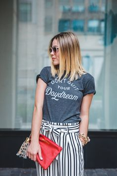 How to start a blog + A business casual look • Uptown with Elly Brown