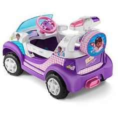 Doc McStuffins Ride On Toys for Girls - Christmas Gifts for Everyone Toys For Girls, Kids Toys, Doc Mcstuffins Toys, Bubble Guppies Birthday, Toy Story Birthday, 2nd Birthday, Geek Birthday, Ride On Toys, Boutique Hair Bows