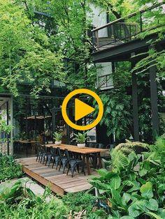 — – a day magazine - DIY Garden Decor Outdoor Garden Decor, Diy Garden Decor, Garden Ideas, Home Decor Accessories, Garden Design, Diys, Magazine, Make It Yourself, Plants