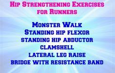 Hip Strengthening Exercises for Runners - happyfitmama.com