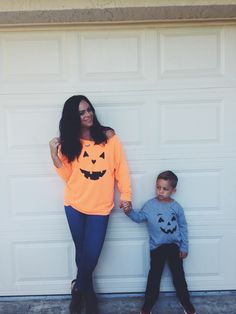 05ebbfd19fa2b Mommy and me Halloween long sleeve sweatshirts. Explore our cute women and  simple tees at