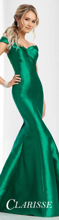 1c9dd18992d Top Trending Clarisse Prom Dress CLARISSE Prom 2017 Mikado mermaid gown  with off the shoulder straps