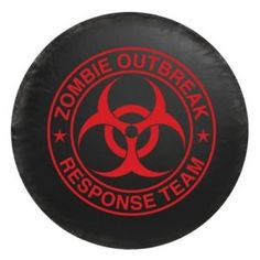 Jeep Zombie Outbreak Response Team Spare Tire Cover