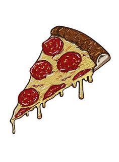 Pizza Iron-On Patch | Hot Topic