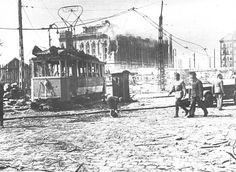 A Boráros tér 1945 nyarán Old Pictures, Old Photos, Vintage Photos, Capital Of Hungary, Civil Engineering, Budapest Hungary, Historical Photos, Homeland, Rome