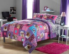 Bedroom Decor Ideas and Designs: Peace Sign Bedding Ideas