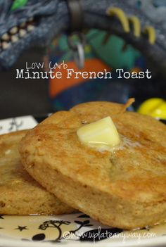 Low carb minute french toast