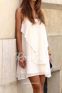soft ruffle dress