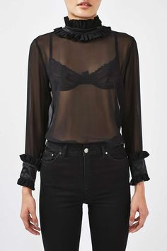 Sheer Blouse by Boutique