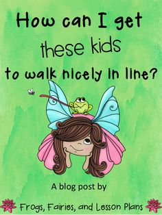 I was out of tricks to keep my kids well behaved in the hallways. Then I tried this...