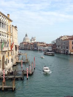 The Grand Canal, taken from the bridge at The Accademia