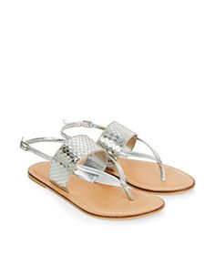 e22a14a90cba3f Accessorize Womens Duke Thong Sandals Size US 85 Shoe Silver    Find out  more about the great product at the image link. (This is an affiliate link)