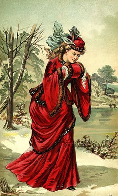 Vintage Victorian Christmas lady postcard * 1500 free paper dolls Christmas gifts artist Arielle Gabriels The International Paper Doll Society also free paper dolls The China Adventures of Arielle Gabriel * Noel Christmas, Victorian Christmas, Christmas Girls, Xmas, Christmas Crafts, Christmas Decorations, Vintage Ephemera, Vintage Postcards, Vintage Christmas Images
