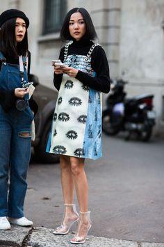 Street look à la Fashion Week automne-hiver 2016-2017 de Milan http://www.vogue.fr/mode/street-looks/diaporama/fwah2016-street-looks-la-fashion-week-automne-hiver-2016-2017-de-milan/25952 Photos par Sandra Semburg