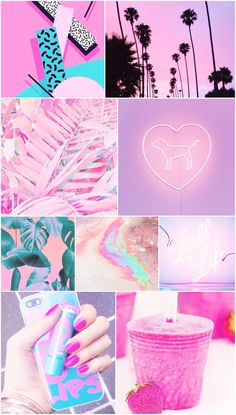 neon, pink, purple, blue, rainbow, wallpaper, background, iPhone, android