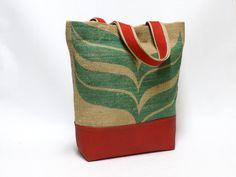 Sac toile recyclé sac café marché